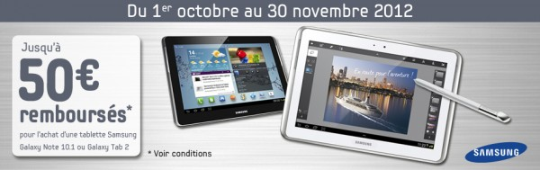 ODR sur tablette samsung galaxy note 10.1