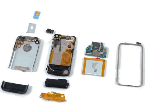 Apple iPhone 2G iFixit