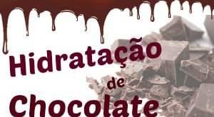 Hidratação para o cabelo de chocolate