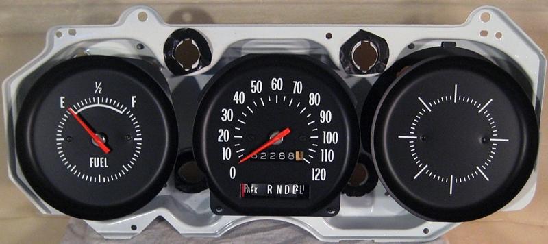 Tachometer Repair Restoration for Chevelle Classic Cars