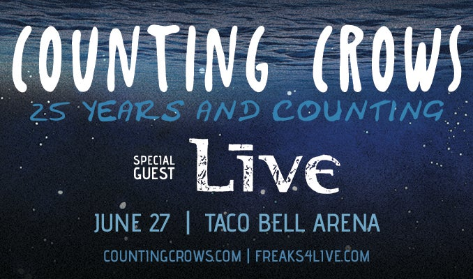 Counting Crows Taco Bell Arena - Official Site