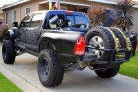 Show me your in bed tire carrier | Tacoma World