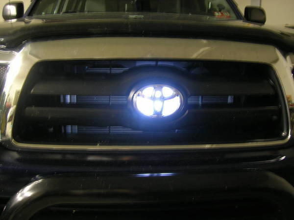 Backlit Toyota Grill Logo Mod Tacoma World