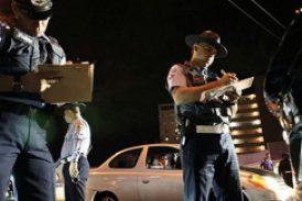 Policía anuncia bloqueos de carreteras para este fin de semana