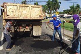Municipio de Loíza repara áreas de la PR 3