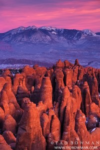 Fiery Furnace Sunset : Arches National Park, Utah ...