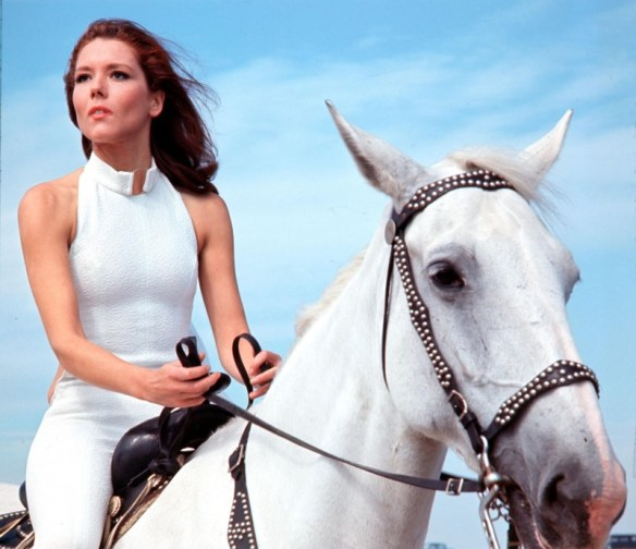 It seemed like the right time to post an incredibly cool picture of Diana Rigg.