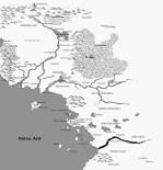 Fan Art Map of Osten Ard