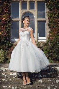 House of Nicholas 2026  High neck T-length wedding dress