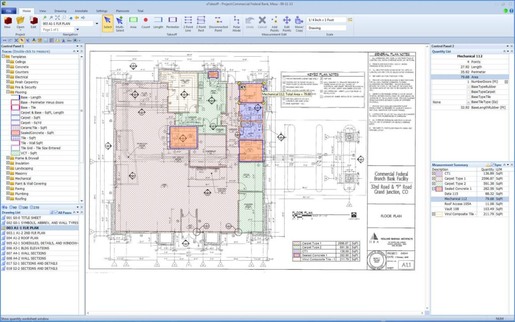 Building Estimate Template and Construction Estimating software for