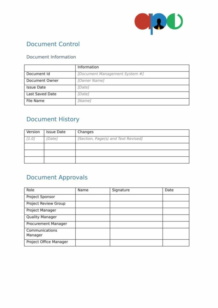 Free Project Management Templates for Excel and Cover Letter Example