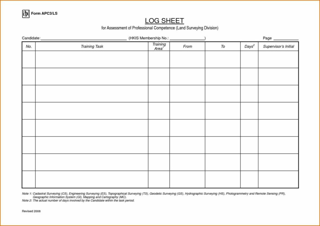 Land Survey Report Template and A Master Meal Planner with This