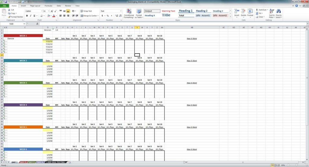 Time Tracking Spreadsheet and Excel Time Clock Template Time
