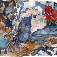 The Hyperborean Headlands painting