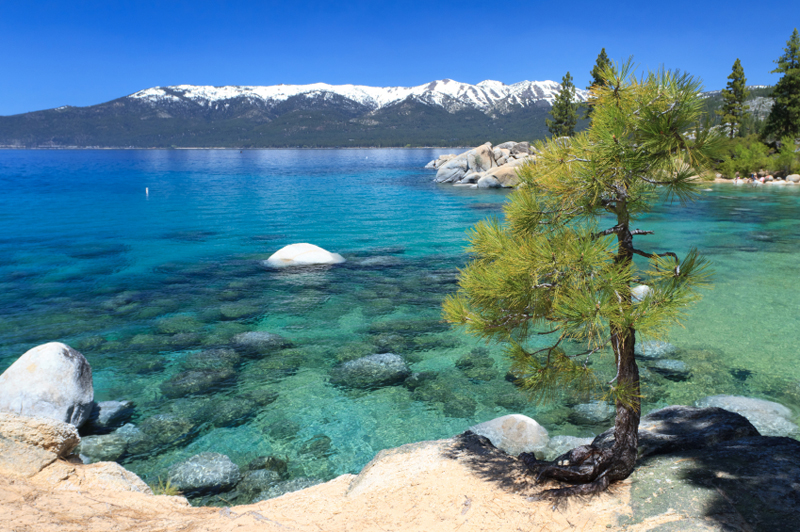 Fall Desktop Mountain Wallpaper Sand Harbor Lake Tahoe Guide