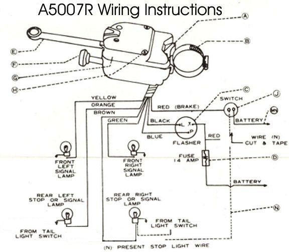 Turn Signal Switch Wiring Diagram On Led Driving Light Wiring