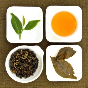 The four states of Hong Shui Oolong Tea, Lot 121