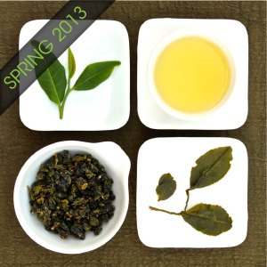 The four states of Organic Jin Xuan Oolong Tea, Lot 227