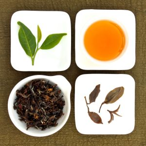 The four states of Oriental Beauty Oolong Tea, Lot 123