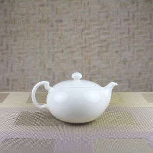 Elegant Teapot Side View