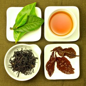 The four states of Red Jade Black Tea