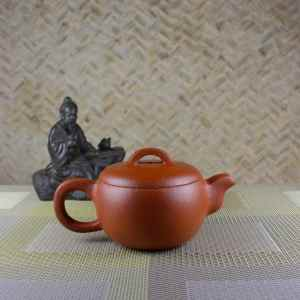 160 ml Yixing Teapot Side View