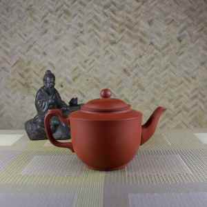 200 ml Yixing Teapot Side View