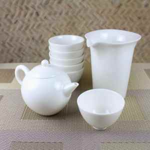 Gongfu Teapot Gift Set for 6 Above Shot