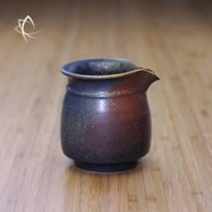 Ash Glazed Handleless Tea Pitcher Featured View