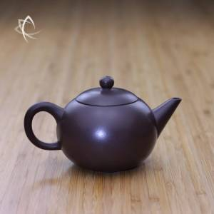 Larger Yuan Zhu Purple Clay Teapot Featured View