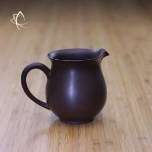 Smaller Classic Purple Clay Tea Pitcher Featured View