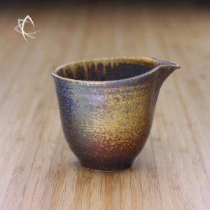 Ash Glazed Tulip Tea Pitcher Featured View
