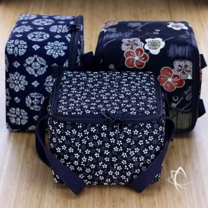 Insulated Square Tea Travel Tote Pack Group View