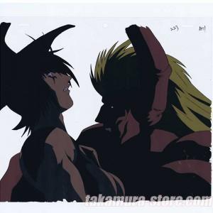 Crying Cute Boy Wallpaper Devilman Lady Anime Cel R1306