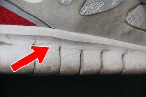 Wrinkles on Midsole