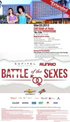 Sofitel-Runrio Battle of the Sexes 2013 Results and Photos