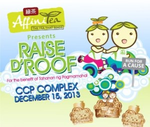 Takbo.ph Giveaway – FREE Raise D' Roof AffiniTea Run 2013 Race Kits