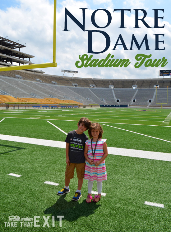 Notre Dame football stadium tour, plus our first time to Culver\u0027s