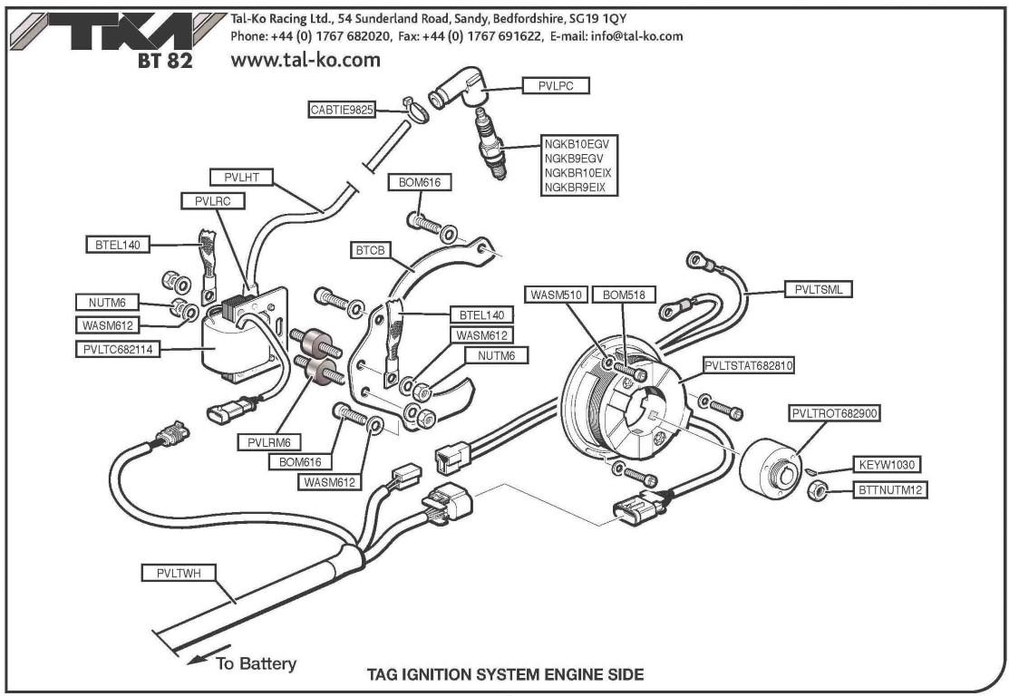 candlestick wiring diagram