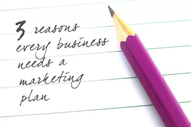 Three reasons EVERY business needs a marketing plan - Talented - writing business marketing plan