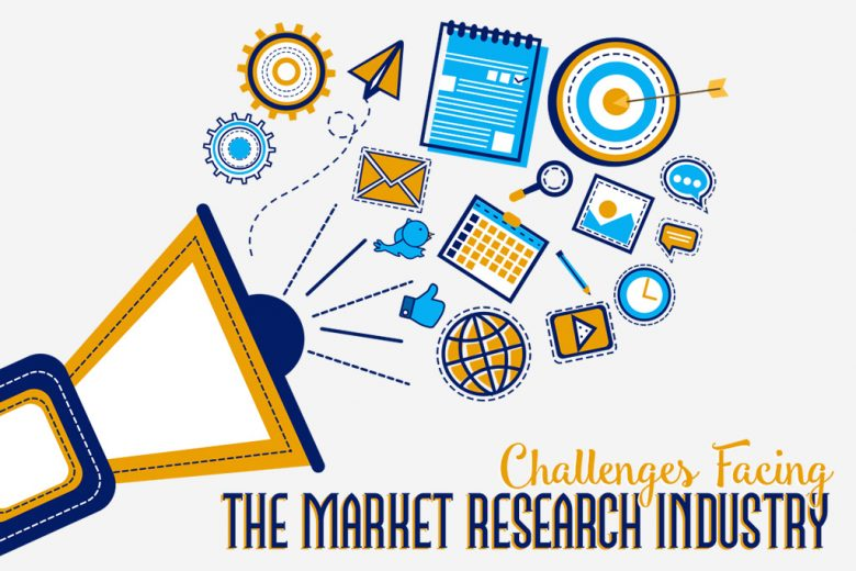 The challenges facing the market research industry - infographic