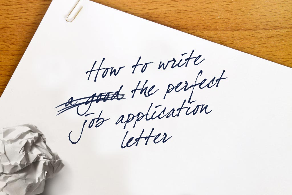 How to write the perfect job application letter - Talented Ladies Club