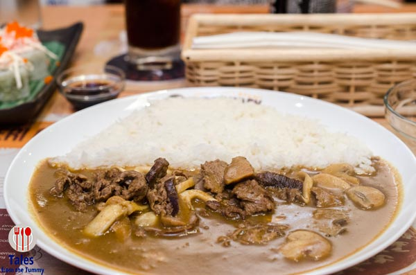 Eri Curry SM Megamall Atrium Thin Sliced Beef Curry with Mushroom