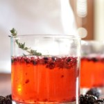 Blackberry and Thyme Gin & Tonic