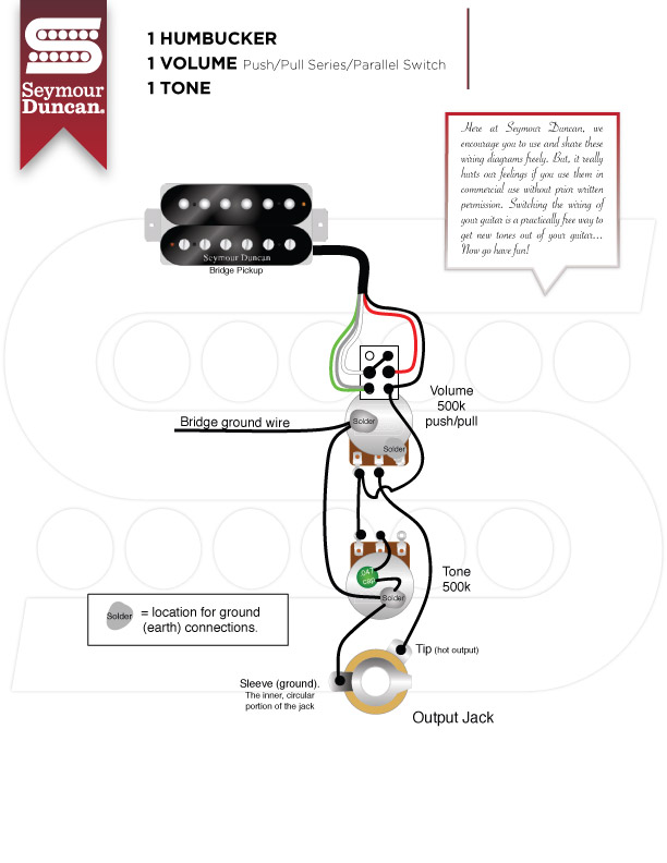 parallel push pull pot wiring diagram