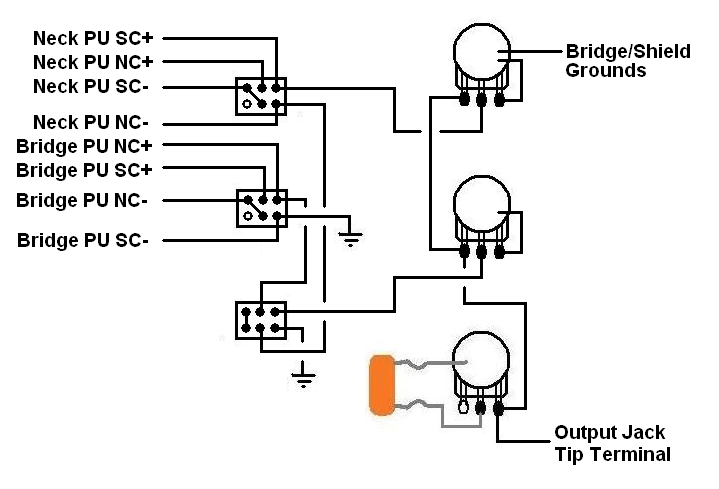parallel wiring in bridge mode