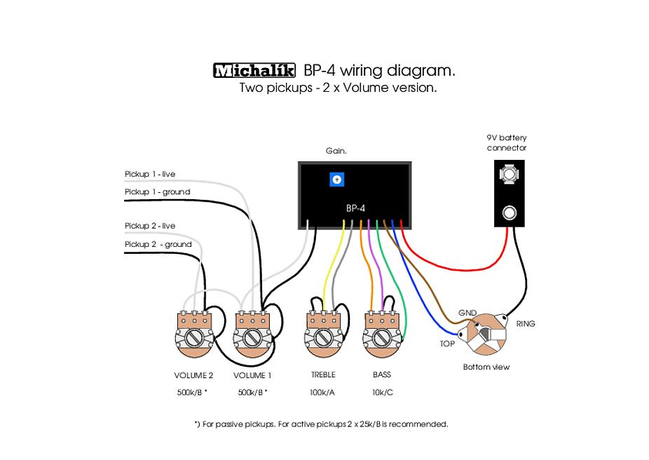 spector tone pump jr wiring diagram