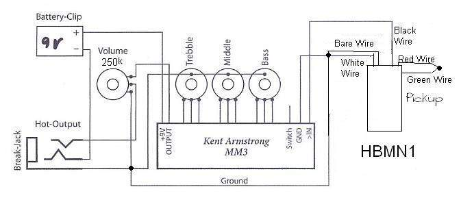 wiring diagram for kent armstrong pickups