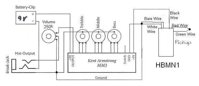 kent armstrong pickup neck wiring diagram