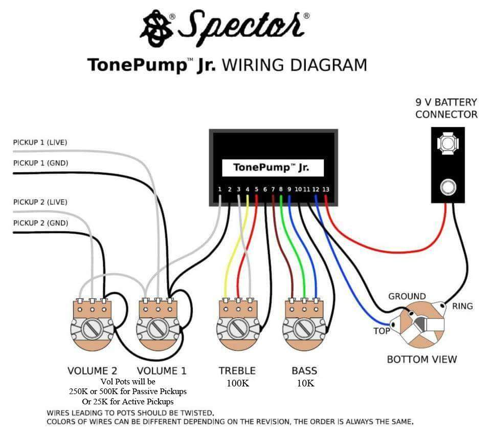 spector tone pump jr wiring diagram